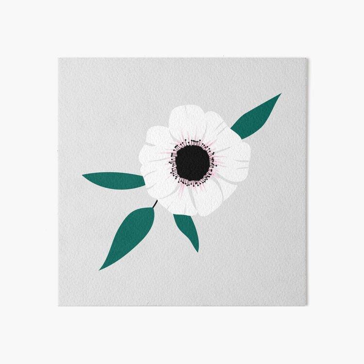 Anemone Art Board Print
