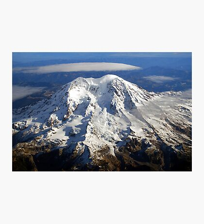 Majestic Mount Rainier Photographic Print