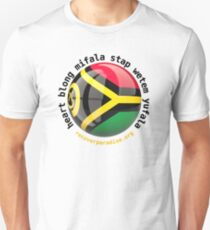 Vanuatu - heart blong mifala stap wetem yufala  Unisex T-Shirt