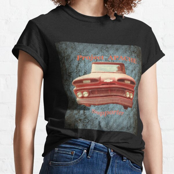 1960 Chevrolet Apache project restoration Classic T-Shirt