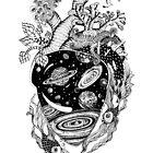 Heart of universe by Ruta Dumalakaite
