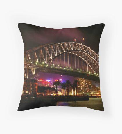 The Bridge Throw Pillow