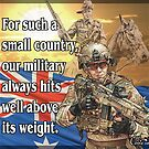 Small country, great Military by iancoate