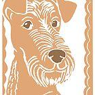 Irish Terrier by Abigail Davidson