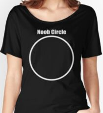 Noob Circle Women's Relaxed Fit T-Shirt