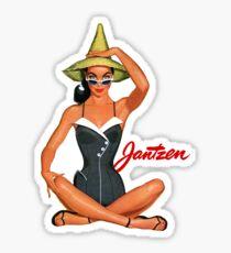 Vintage Swimwear 1 Sticker