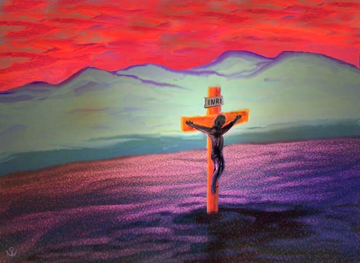 The Crucifixion by Albert