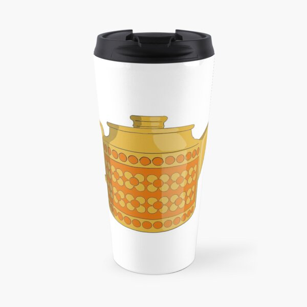 Hornsea Saffron Teapot Travel Mug