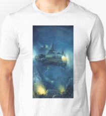 Steampunk Submersible Unisex T-Shirt