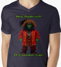 Lechuck Men's V-Neck T-Shirt
