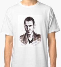 Dr Who. Christopher Eccleston. Classic T-Shirt