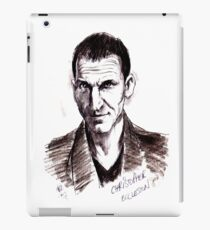 Dr Who. Christopher Eccleston. iPad Case/Skin