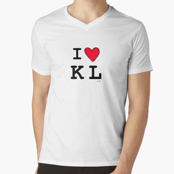 I Love Kuala Lumpur V-Neck T-Shirt