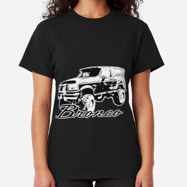 4XL 1980s 90s Ford Bronco Lifted Mud Tires Truck Sweatshirt