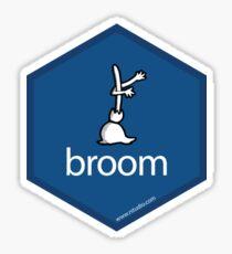 rstudio broom Sticker