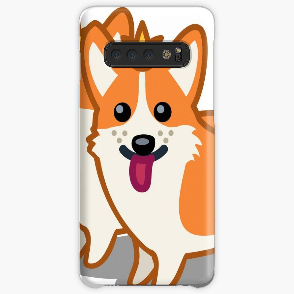Funny Corgi Dog Tshirt - Dog Gifts for Corgi Pet Lovers Case & Skin for Samsung Galaxy