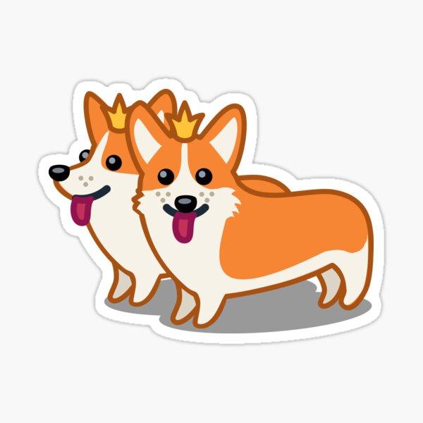 Funny Corgi Dog Tshirt - Dog Gifts for Corgi Pet Lovers Sticker