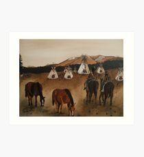 Indian Reservation Art Print