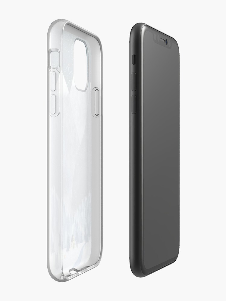 Alternate view of Mountainscape iPhone Case & Cover
