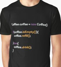 Coffee - code Graphic T-Shirt