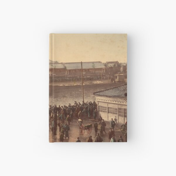 Iron bridge street, Yokohama Hardcover Journal
