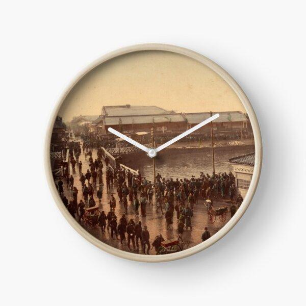 Iron bridge street, Yokohama Clock