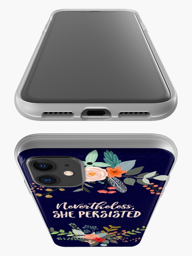 Alternate view of Nevertheless, She Persisted iPhone Case & Cover