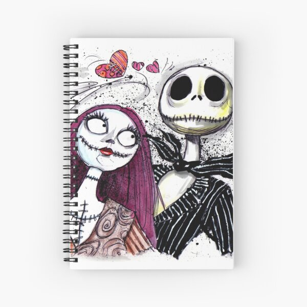Jack and Sally Spiral Notebook