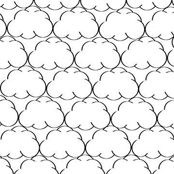 Cloud Pattern Design by GTOWNNINJA