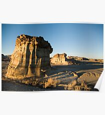 Evening in the Bisti Poster