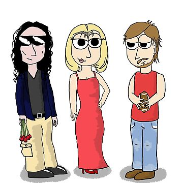 The Room- Johnny, Lisa, and Mark by MilleniumIbis