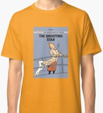 Tintin Shooting Star  Classic T-Shirt