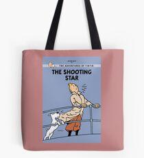 Tintin Shooting Star  Tote Bag