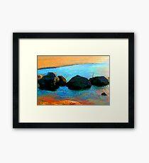 Rockpool Framed Print