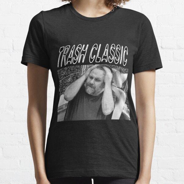 TRASH CLASSIC ZIZEK DEATH GRIPS PARODY PCM MEMES Essential T-Shirt