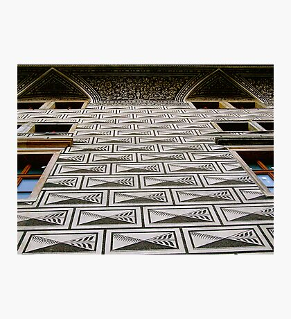 WALL OR FLOOR? Photographic Print