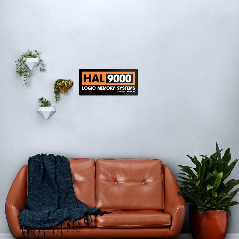 HAL 9000 - 2001 Eine Weltraum Odyssee Metallbild