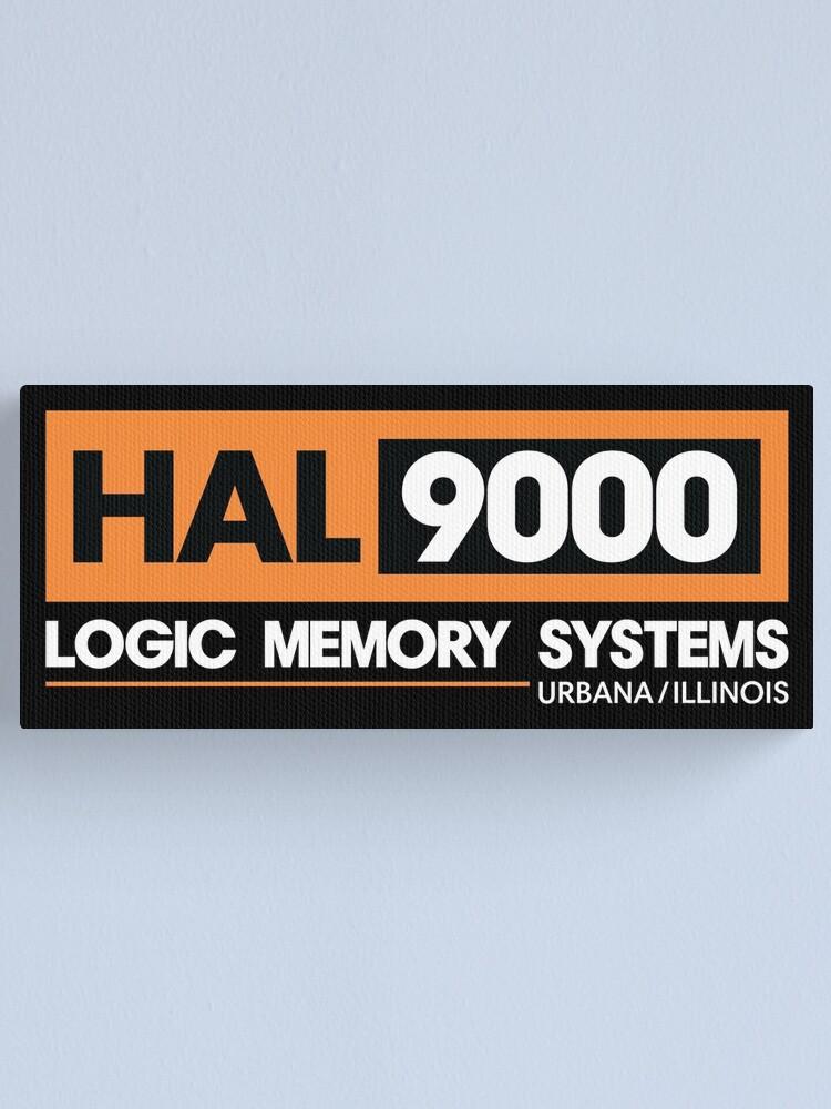 Alternative Ansicht von HAL 9000 - 2001 Eine Weltraum Odyssee Leinwanddruck