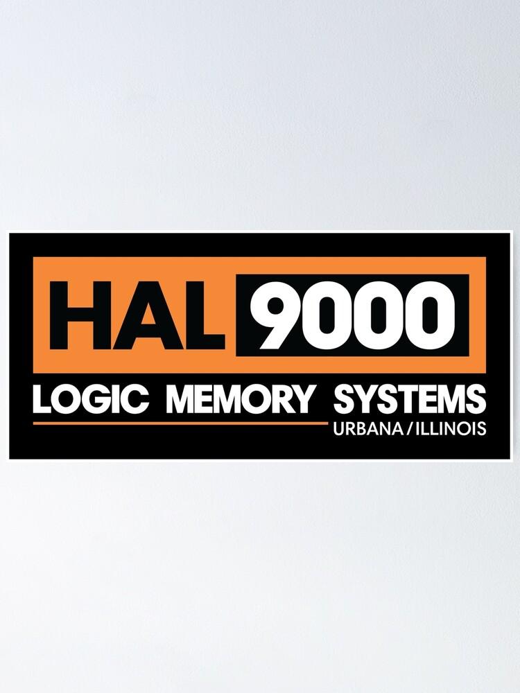 Alternative Ansicht von HAL 9000 - 2001 Eine Weltraum Odyssee Poster