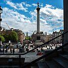 Trafalgar Square by Philip Golan