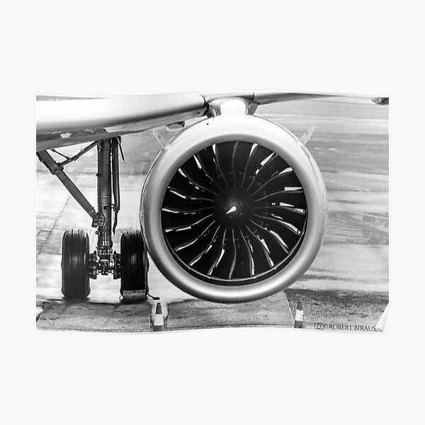 A320NEO ENGINE Poster