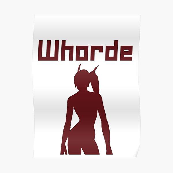 Whorde Poster
