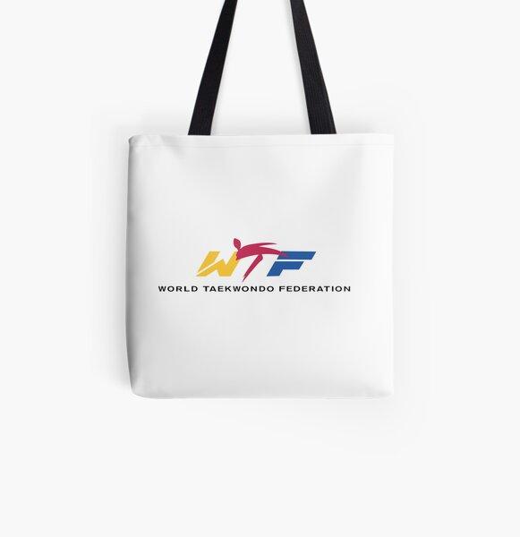 world taekwondo federation All Over Print Tote Bag