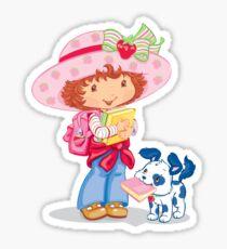 Strawberry Shortcake and your dog Sticker