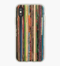 Vinilo o funda para iPhone Registros de rock alternativo clásico