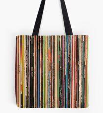 Classic Alternative Rock Records Tote Bag