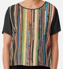 Classic Alternative Rock Records Chiffon Top