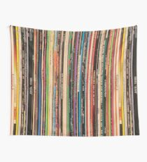 Classic Alternative Rock Records Wall Tapestry
