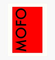 MoFo Art Print