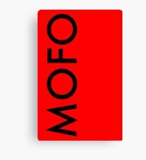 MoFo Canvas Print